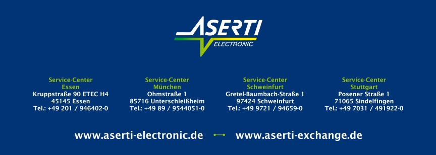 ASERTI Electronic - 5 Service-Center in Ihrer Nähe